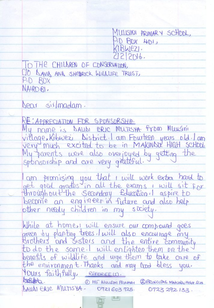 DAUDI ERIC MUTISYA-APPRECIATION LETTER 001